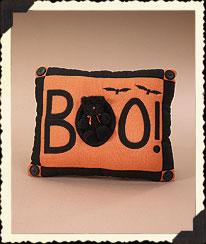 Boo Pillow Boyds Bear