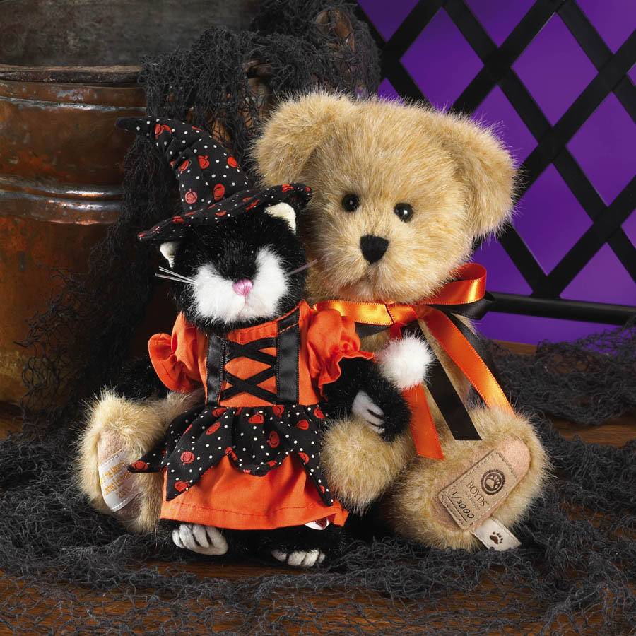 Boobeary With Tabitha... Bewitching Buddies Boyds Bear