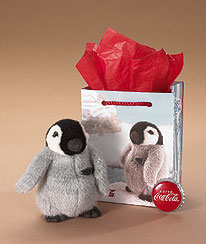 Boyds Coca-cola® Penguin® Gift Set Boyds Bear