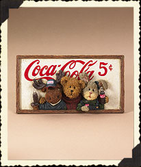 Boyds Coca-cola® Wall Plaque Boyds Bear
