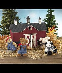 Boyds Down On The Farm Gang Gift Set Boyds Bear