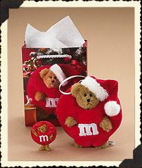 Boyds M&m's® Gift Set - Lil' Jingles T. Mcpeeker Boyds Bear