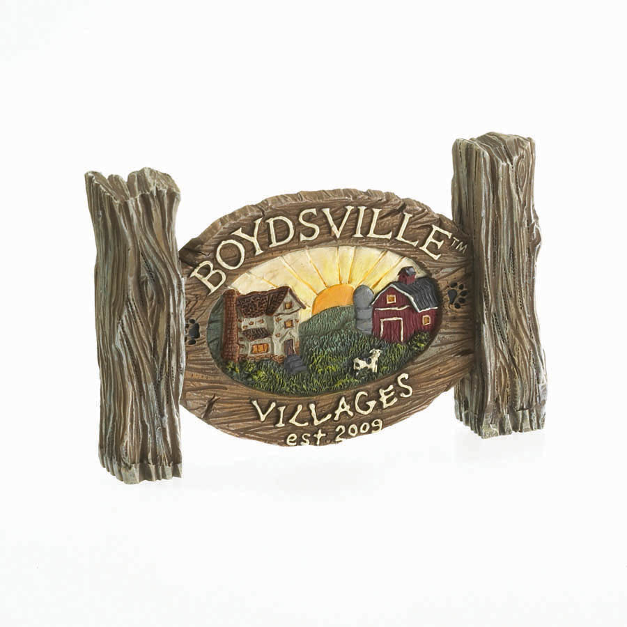 Boydsville Village Sign Boyds Bear
