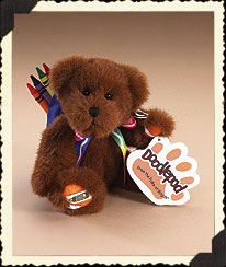 Brown Crayola® Doodlepad Bear By Boyds Boyds Bear
