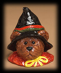 Bruin Up Trouble Candy Jar Boyds Bear