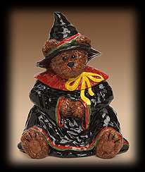 Bruin Up Trouble Cookie Jar Boyds Bear