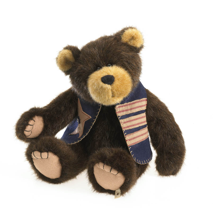 Bubba Bearyproud Boyds Bear