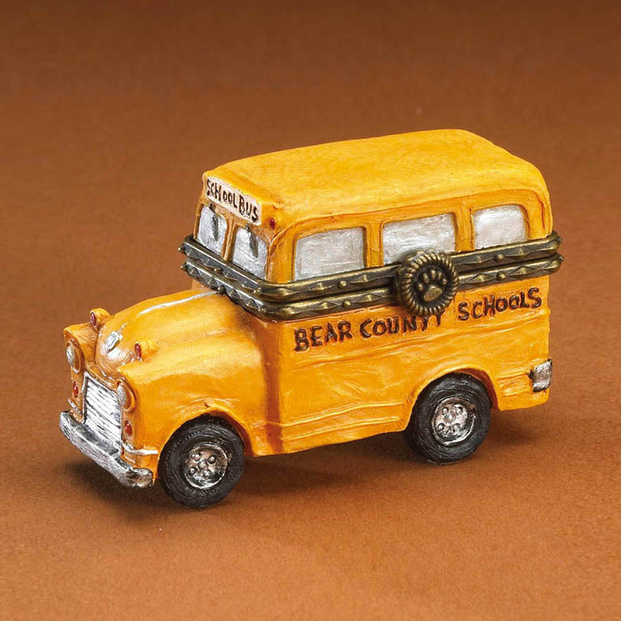 Buddy's Lil' Yellow School Bus With Booker Mcnibble Boyds Bear