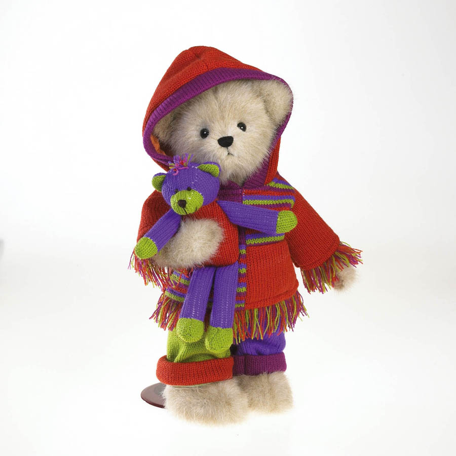 Callie Knitbeary With Ted E. Boyds Bear