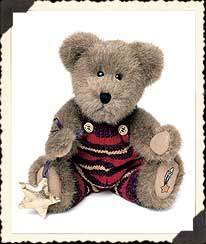 Cameron W. Bearsmark Boyds Bear
