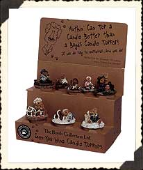 Candle Toppers Boyds Bears