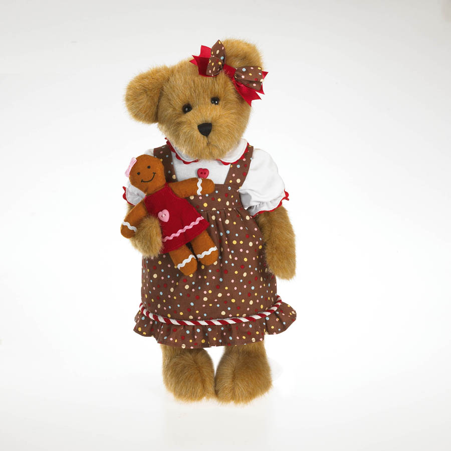 Candy B. Gingerbeary Boyds Bear