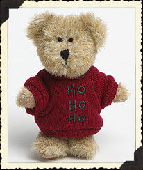 Candy Cane Bear Boyds Bear