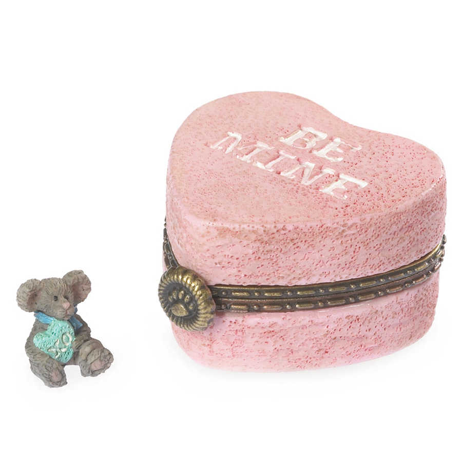 Candy's Heartbox With Kisses Mcnibble Boyds Bear