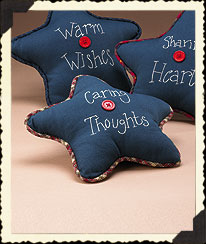 Caring Thoughts Sachet Star Pillow Boyds Bear