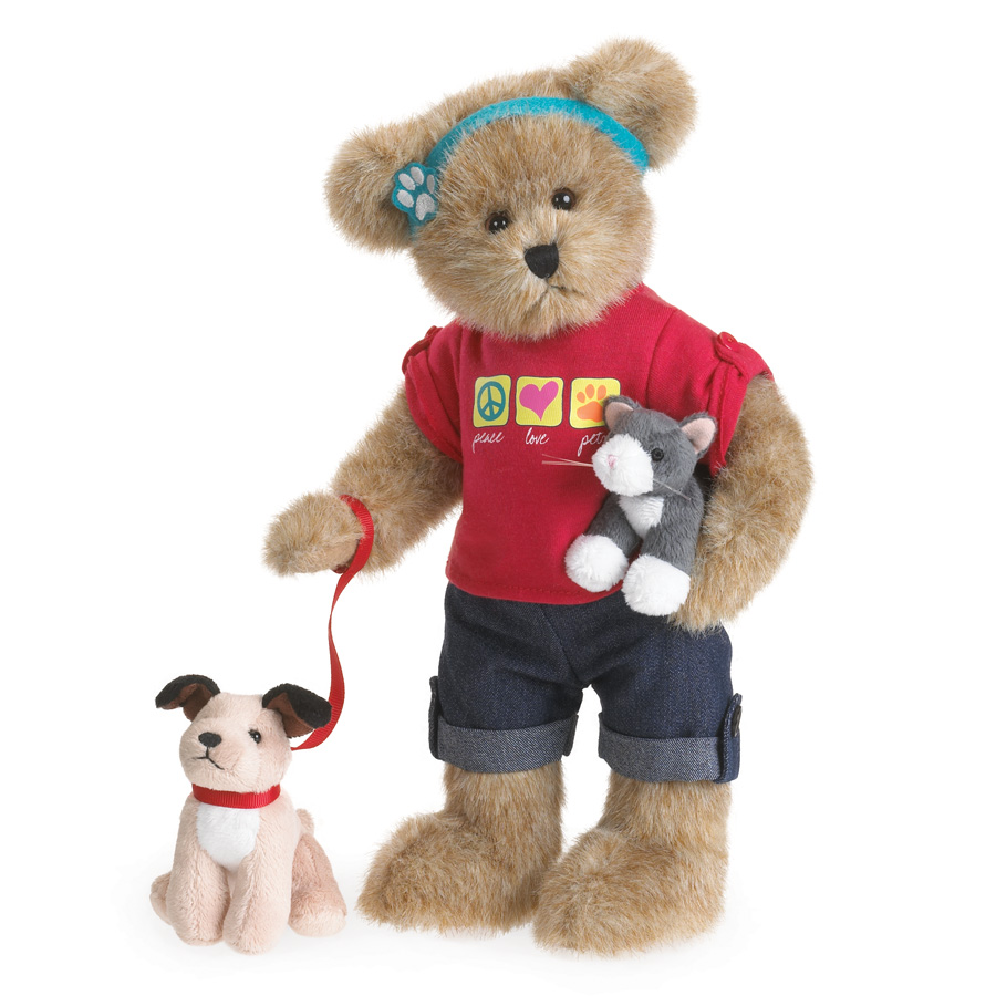 Caroline And Paw Pals Boyds Bear