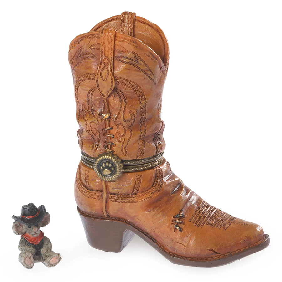 Cash's Boot With Whiskey Mcnibble Boyds Bear