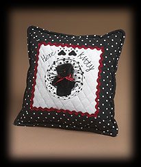 Cat Square Pillow With Kitten Boyds Bear