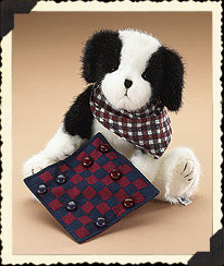 Checkers Boyds Bear
