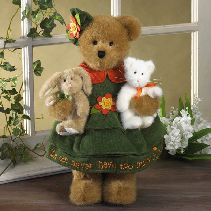 Chloe Goodfriend With Whiskers And Hops Boyds Bear