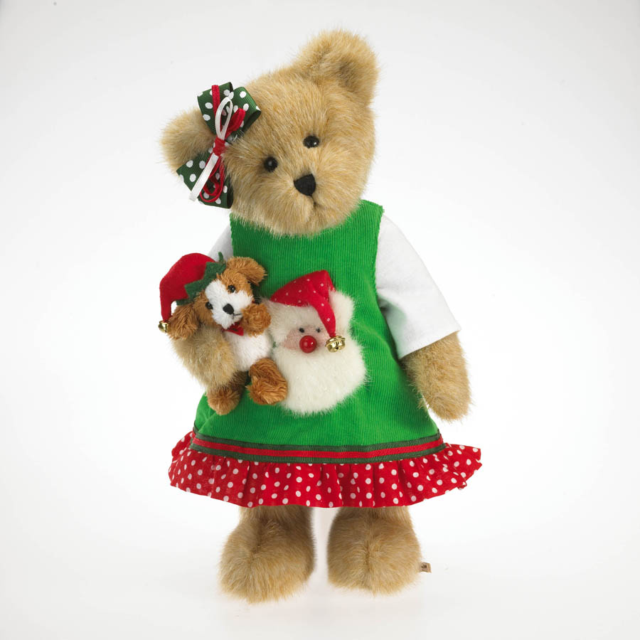 Chrissy Goodfriend With Elfie Boyds Bear