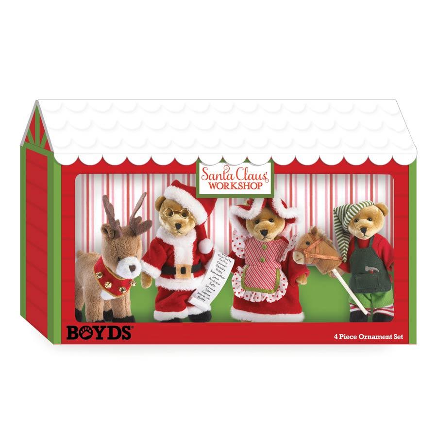 Christmas Command Central Boyds Bear