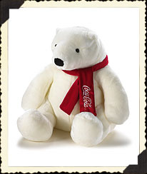 Coca-cola® Polar Bear By Boyds Boyds Bear