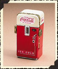 Coke® Machine Treasure Box With Fizz Mcnibble Boyds Bear