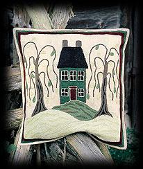Colonial Home Cushion Cover Boyds Bear