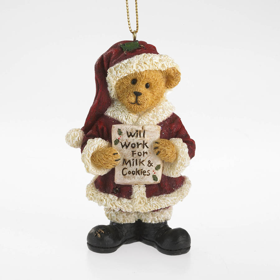 Cookie Claus Boyds Bear