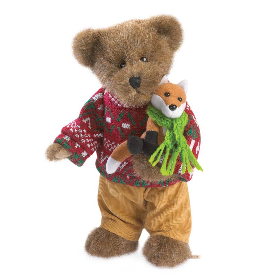 Cooper Goodfriend With Lil' Sly Boyds Bear