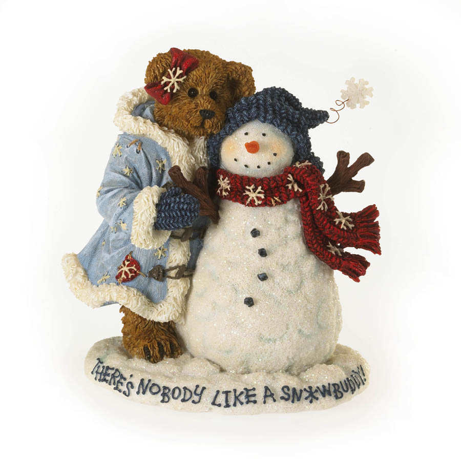 Crystal Winterbeary With Chilly... Snow Buddies Boyds Bear