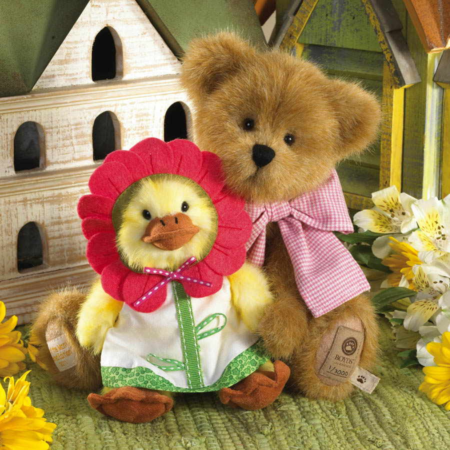 Daisy With Blossom... Forget Me Not Boyds Bear