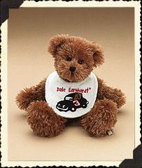 Dale Earnhardt Baby Bib Bear Boyds Bear