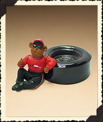 Dale Earnhardt, Jr. Clip Holder Boyds Bear