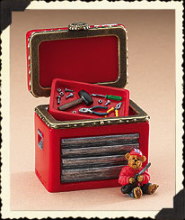 Dale Earnhardt, Jr. Hinged Box Boyds Bear