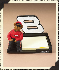 Dale Earnhardt, Jr. Memo Holder Boyds Bear