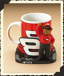 Dale Earnhardt, Jr. Mug & Holder Boyds Bear
