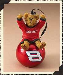 Dale Earnhardt, Jr. Ornament Ball Boyds Bear