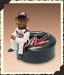 Dale Earnhardt, Sr. Clip Holder Boyds Bear