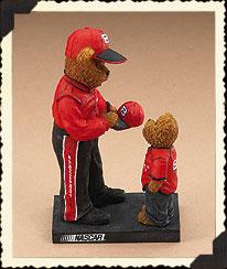 Dale Earnhardt, Sr. Figurine Boyds Bear