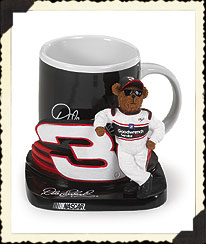 Dale Earnhardt, Sr. Mug & Holder Boyds Bear