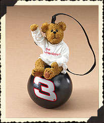 Dale Earnhardt, Sr. Ornament Ball Boyds Bear