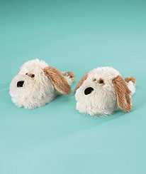 Dog Slippers (youth 10/11) Boyds Bear