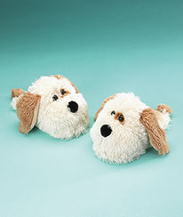 Dog Slippers (youth 1/2) Boyds Bear