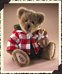 Donovan Woolbeary With Mini Merle Boyds Bear