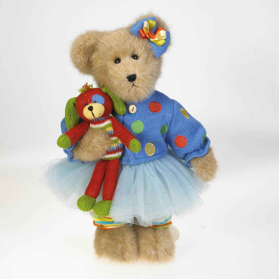 Dottie Knitbeary With Lil' Wags Boyds Bear