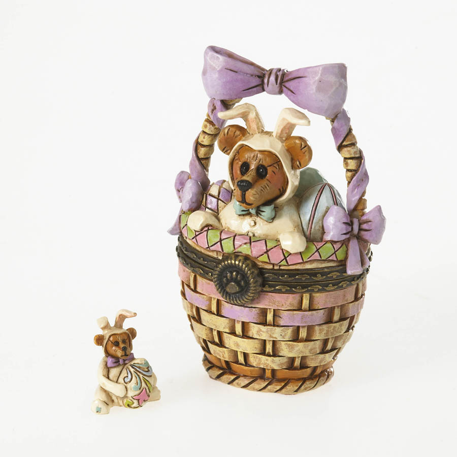 Easter Surprise ... Eggs Aboard Boyds Bear