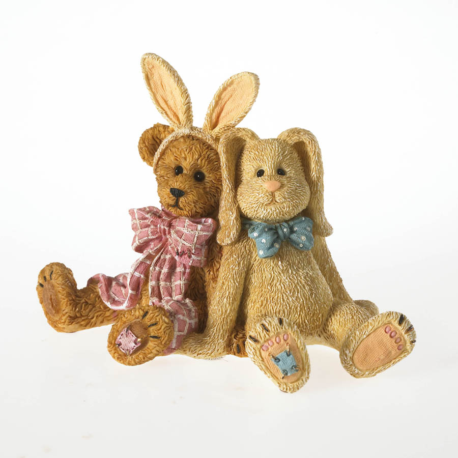E.b. Wannabe And Petey...eggcellent Friends Boyds Bear