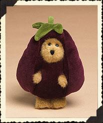 Edgar Eggplant Boyds Bear